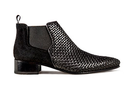 Black Heel Boot