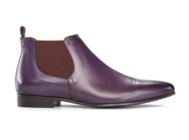 Purple Cross Boot